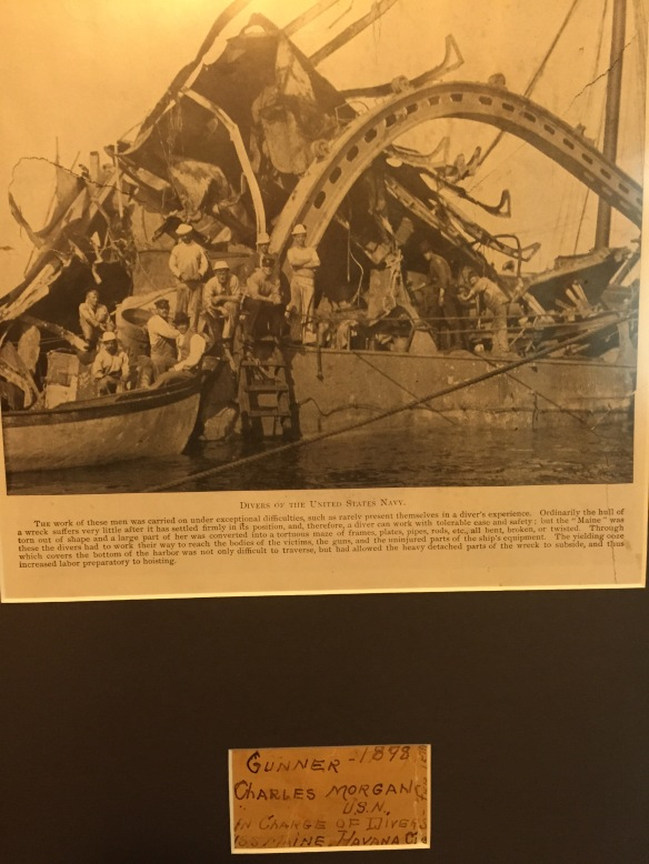 Wreck of the USS Main